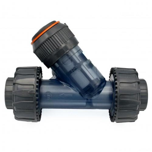 Filtro PVC transparente con malla de PVC/EPDM