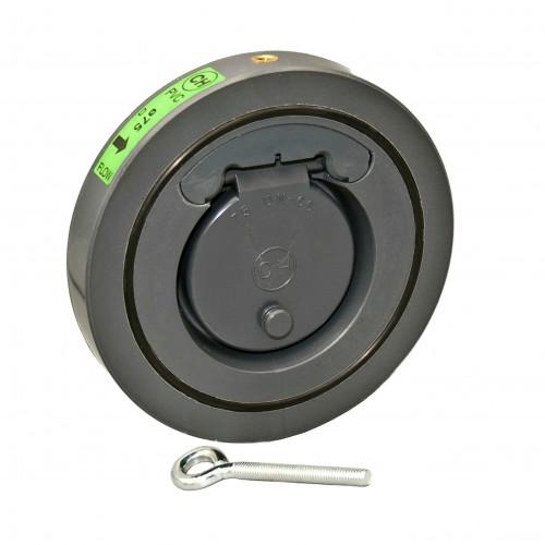 Válvula retención tipo wafer sin resorte PVC/EPDM