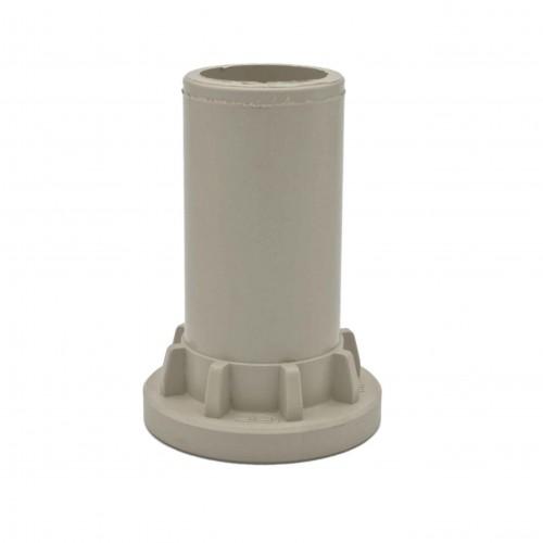 Adaptador para válvula tope Polipropileno