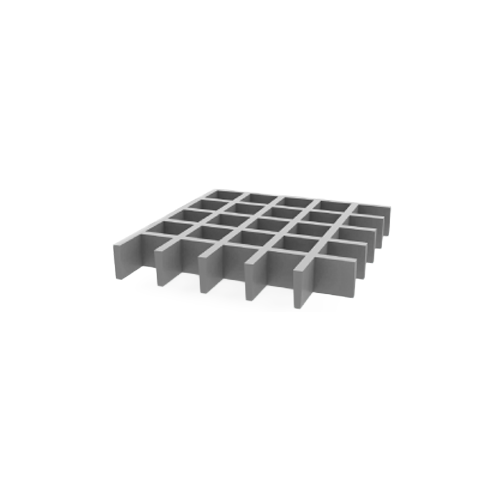 Rejilla PRFV gris con sílice ISO 30 31x31