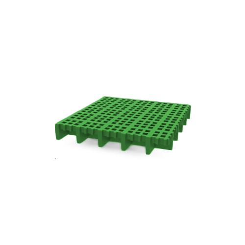 Rejilla PRFV verde con sílice ISO 30 8x8