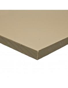 Placa Polipropileno gris 2000x1000 mm