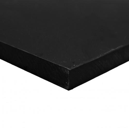 Placa Polietileno negro 3000x1500 mm