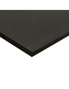 Placa PVC espumado negro mate 3050x2030 mm