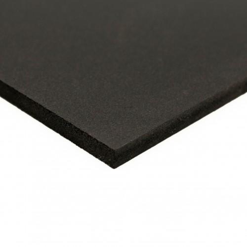 Placa PVC espumado negro mate 3050x2030 mm