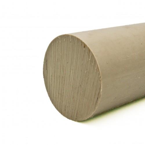 Barra maciza Polipropileno gris