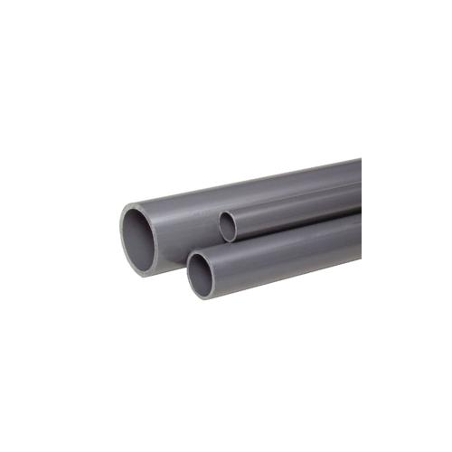 Tubería PVC gris PN10
