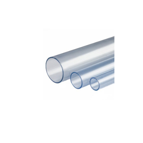 Tubería PVC Glas PN16 transparente