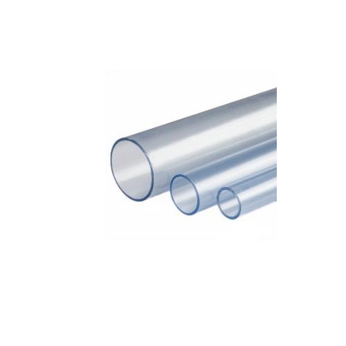 Tubería PVC Glas PN10 transparente