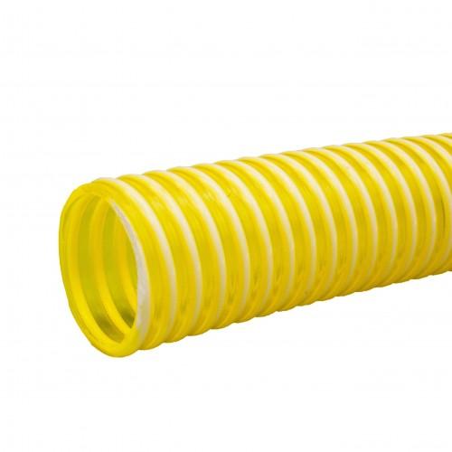 Manguera PVC amarilla reforzada