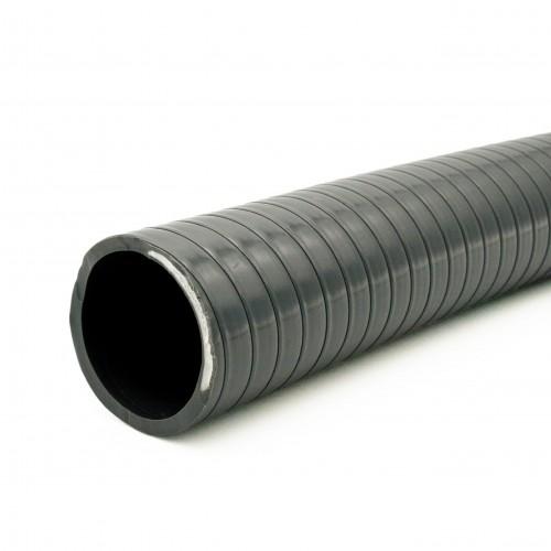 Manguera PVC gris reforzada