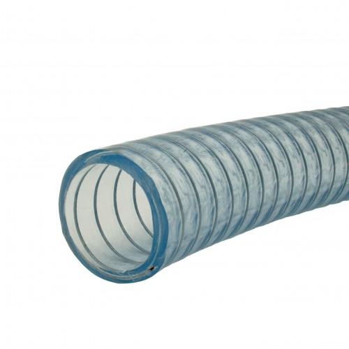 Manguera PVC lisa y transparente reforzada con alambre
