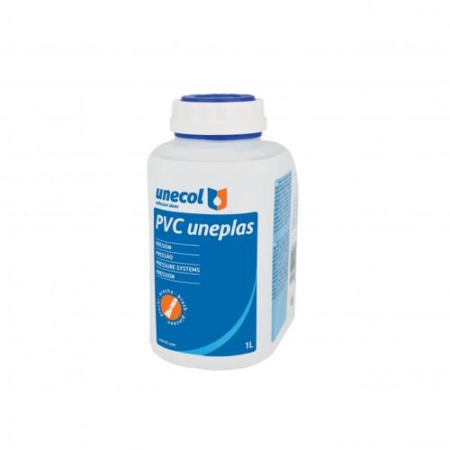 Bote pegamento PVC Uneplas 1000 gr con pincel