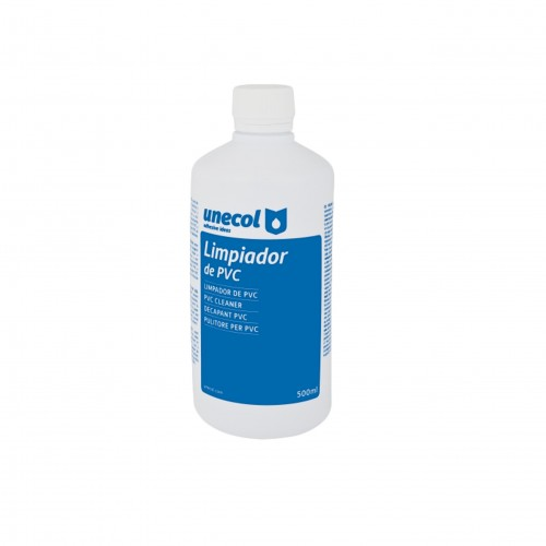 Bote limpiador PVC Uneplas 500 ml