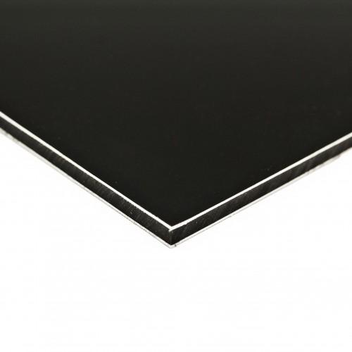 Panel estándar negro mate 3050x1500 mm