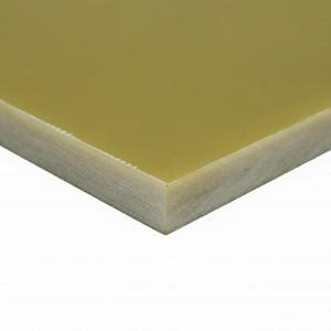 Resina epoxi + fibra de vidrio